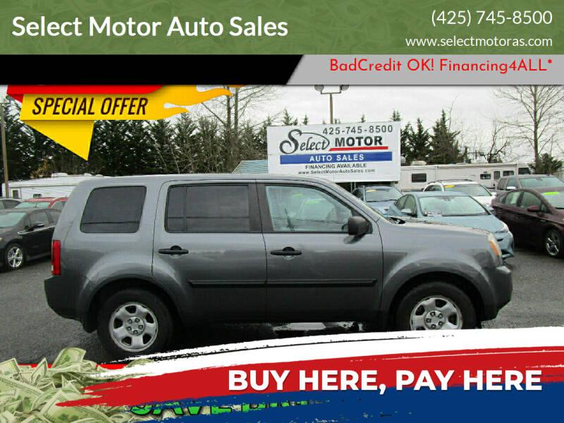 2011 Honda Pilot for sale at Select Motor Auto Sales in Lynnwood WA