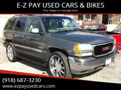 2002 GMC Yukon for sale at E-Z Pay Used Cars - E-Z Pay Cars & Bikes in McAlester OK