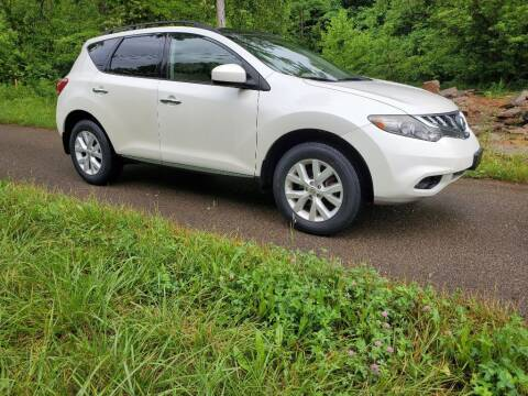 2012 Nissan Murano for sale at ROUTE 68 PRE-OWNED AUTOS & RV'S LLC in Parkersburg WV