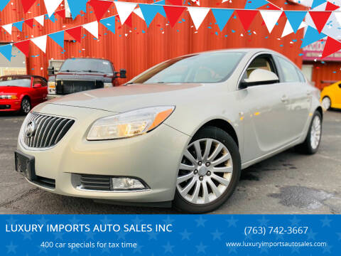 2011 Buick Regal for sale at LUXURY IMPORTS AUTO SALES INC in North Branch MN