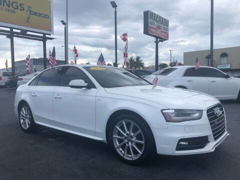 2014 Audi A4 for sale at MACHADO AUTO SALES in Miami FL