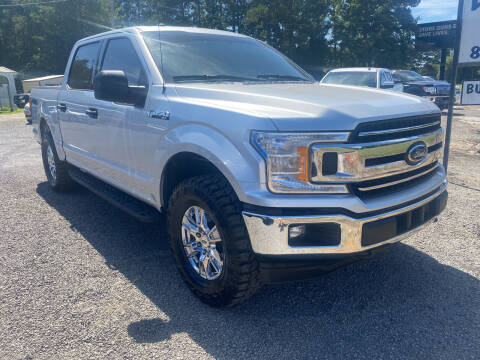 2018 Ford F-150 for sale at Baileys Truck and Auto Sales in Florence SC