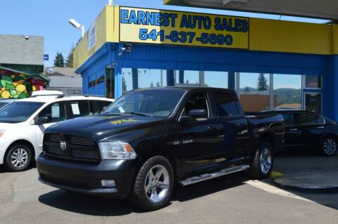 2010 Dodge Ram Pickup 1500 for sale at Earnest Auto Sales in Roseburg OR