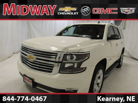 2015 Chevrolet Tahoe for sale at Midway Auto Outlet in Kearney NE