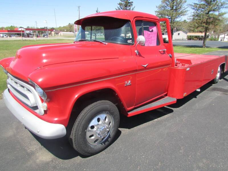 1957 Chevrolet C/K 3500 Series for sale at Toybox Rides in Black River Falls WI