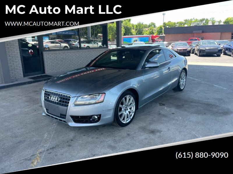 2011 Audi A5 for sale at MC Auto Mart LLC in Hermitage TN