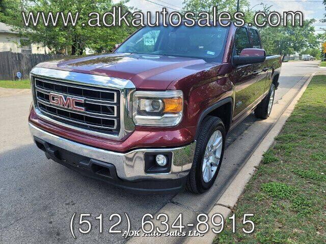 2014 GMC Sierra 1500 for sale at ADK AUTO SALES LLC in Austin TX