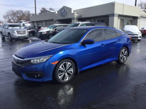 2016 Honda Civic for sale at Beutler Auto Sales in Clearfield UT