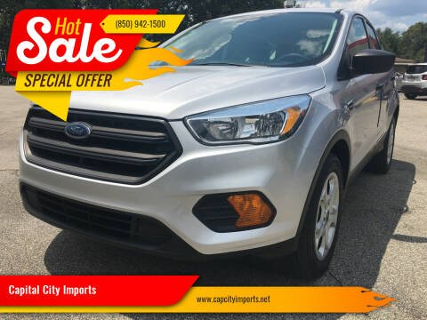 2017 Ford Escape for sale at Capital City Imports in Tallahassee FL