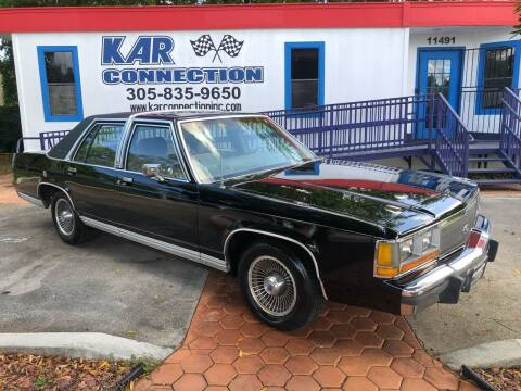 1988 Ford LTD Crown Victoria for sale at Kar Connection in Miami FL