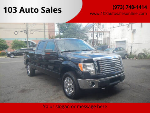 2011 Ford F-150 for sale at 103 Auto Sales in Bloomfield NJ