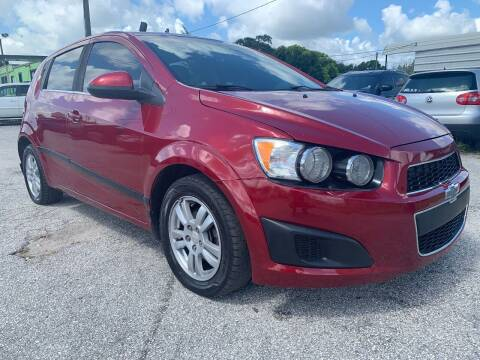 2014 Chevrolet Sonic for sale at Marvin Motors in Kissimmee FL