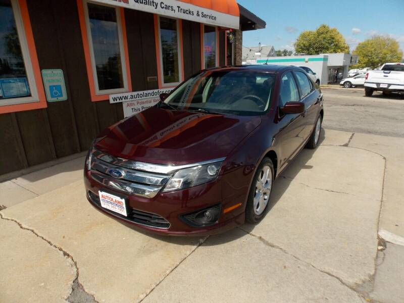 2012 Ford Fusion for sale at Autoland in Cedar Rapids IA