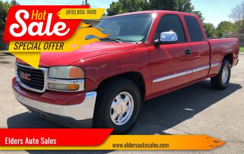 2002 GMC Sierra 1500 for sale at Elders Auto Sales in Pine Bluff AR