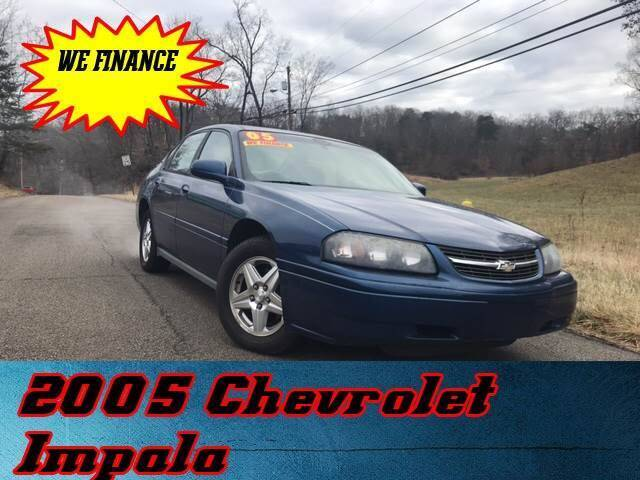2005 Chevrolet Impala for sale at WINNERS CIRCLE AUTO EXCHANGE in Ashland KY