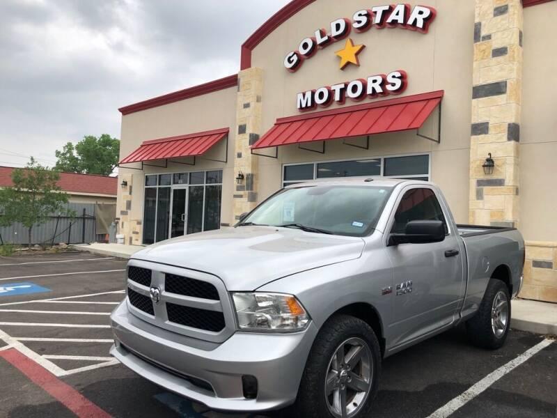2014 RAM Ram Pickup 1500 for sale at Gold Star Motors Inc. in San Antonio TX