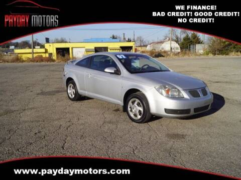 2007 Pontiac G5 for sale at Payday Motors in Wichita And Topeka KS