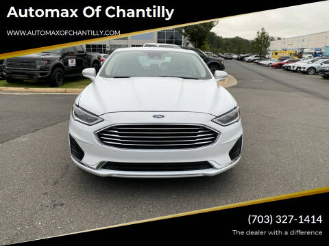 2020 Ford Fusion for sale at Automax of Chantilly in Chantilly VA