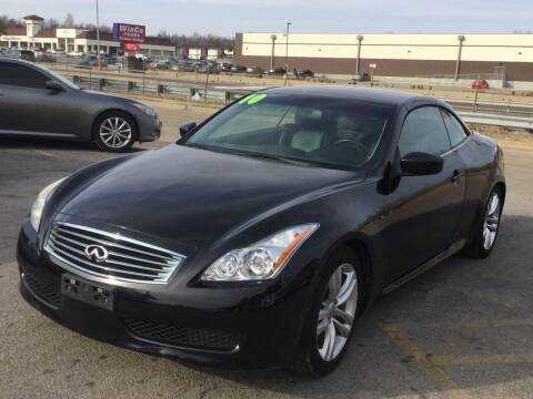 2010 Infiniti G37 Convertible for sale at LOWEST PRICE AUTO SALES, LLC in Oklahoma City OK