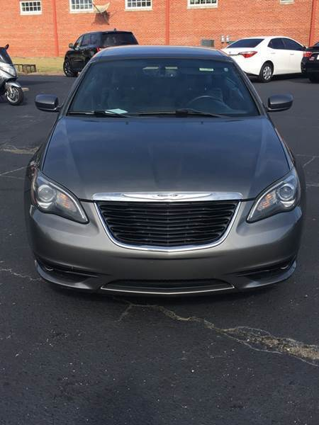 2012 Chrysler 200 Convertible for sale at R3A USA Motors in Lawrenceville GA