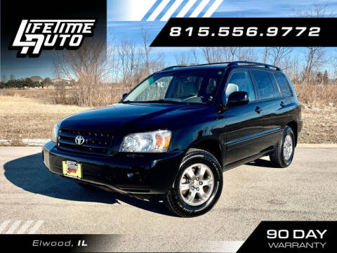 2005 Toyota Highlander for sale at Lifetime Auto in Elwood IL
