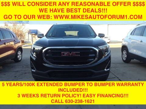 2020 GMC Terrain for sale at Mikes Auto Forum in Bensenville IL
