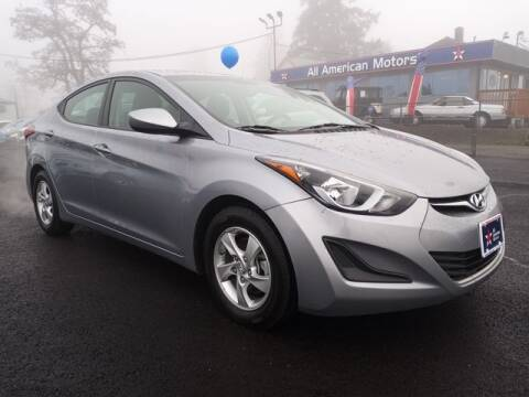 2015 Hyundai Elantra for sale at All American Motors in Tacoma WA