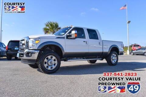 2016 Ford F-250 Super Duty for sale at Courtesy Value Pre-Owned I-49 in Lafayette LA