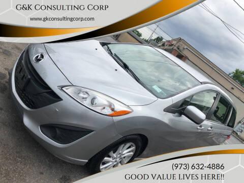 2012 Mazda MAZDA5 for sale at G&K Consulting Corp in Fair Lawn NJ