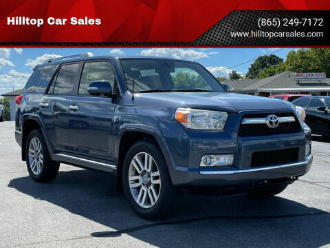 2012 Toyota 4Runner for sale at Hilltop Car Sales in Knoxville TN