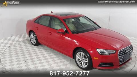 2017 Audi A4 for sale at Excellence Auto Direct in Euless TX