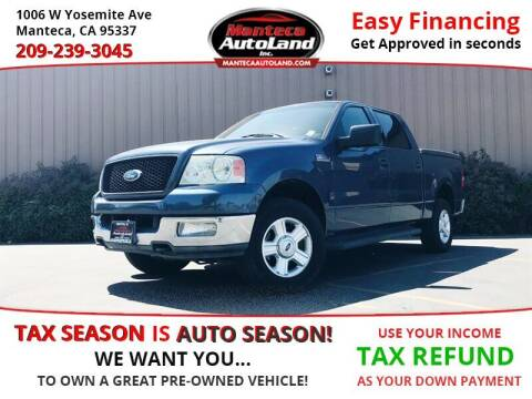 2004 Ford F-150 for sale at Manteca Auto Land in Manteca CA