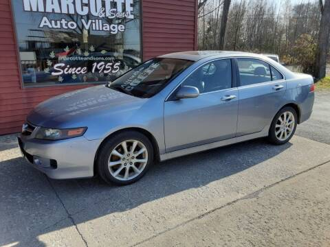 2006 Acura TSX for sale at Marcotte & Sons Auto Village in North Ferrisburgh VT