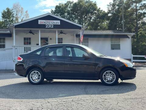2011 Ford Focus for sale at CVC AUTO SALES in Durham NC