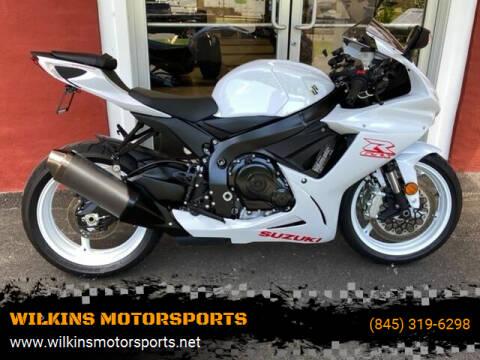 2020 Suzuki GSX-R600 for sale at WILKINS MOTORSPORTS in Brewster NY