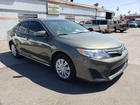 2012 Toyota Camry for sale at Gus Auto Sales & Service in Gardena CA