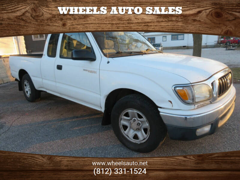 2002 Toyota Tacoma for sale at Wheels Auto Sales in Bloomington IN