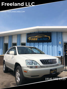 2002 Lexus RX 300 for sale at Freeland LLC in Waukesha WI