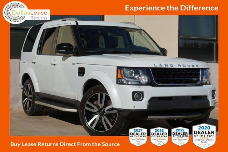 2016 Land Rover LR4 for sale at Dallas Auto Finance in Dallas TX