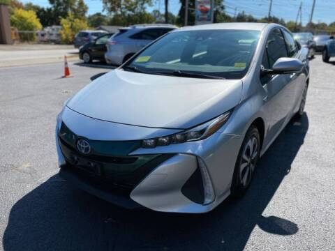 2017 Toyota Prius Prime for sale at 1A Auto Sales in Walpole MA