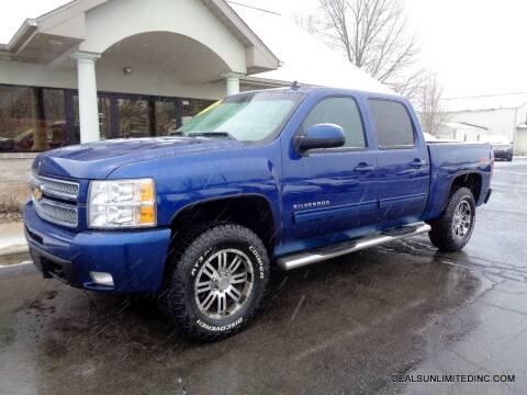2013 Chevrolet Silverado 1500 for sale at DEALS UNLIMITED INC in Portage MI