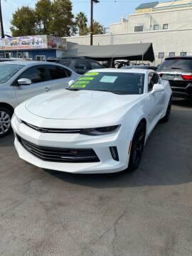 2018 Chevrolet Camaro for sale at 2955 FIRESTONE BLVD - 3271 E. Firestone Blvd Lot in South Gate CA