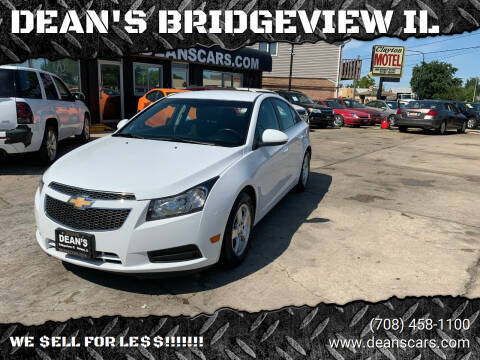 2013 Chevrolet Cruze for sale at DEANSCARS.COM in Bridgeview IL