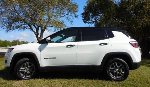 2018 Jeep Compass for sale at Performance Autos of Southwest Florida in Fort Myers FL