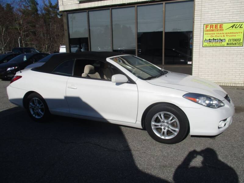 2008 Toyota Camry Solara for sale at Metropolis Auto Sales in Pelham NH