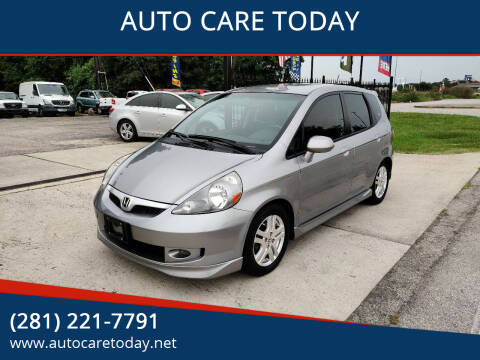 2008 Honda Fit for sale at AUTO CARE TODAY in Spring TX