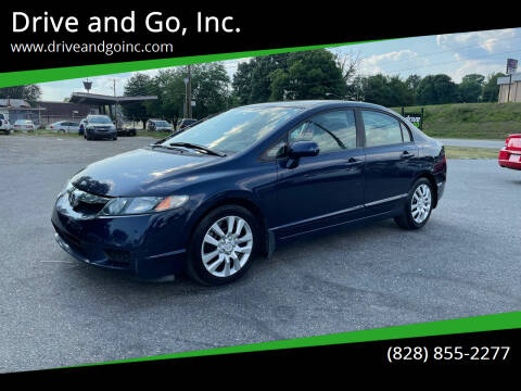 2009 Honda Civic for sale at Drive and Go, Inc. in Hickory NC