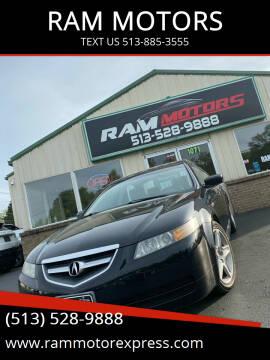 2005 Acura TL for sale at RAM MOTORS in Cincinnati OH