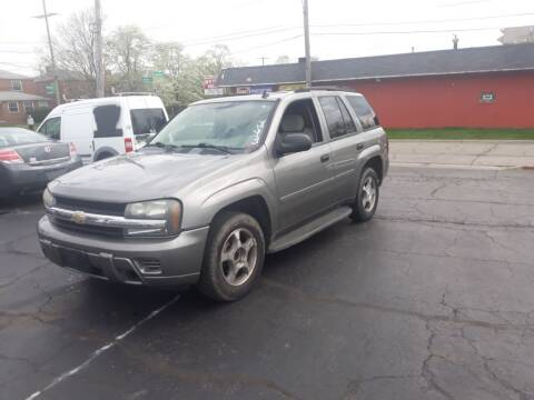 2007 Chevrolet TrailBlazer for sale at Flag Motors in Columbus OH