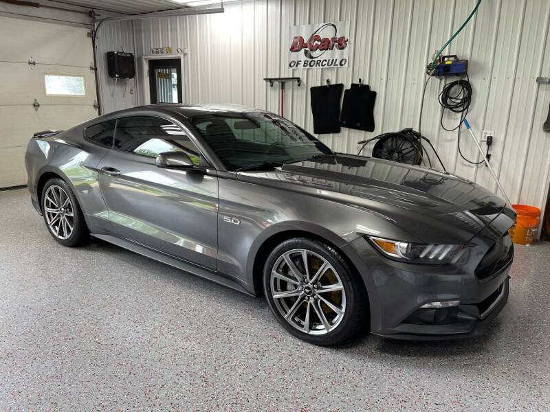2015 Ford Mustang for sale at D-Cars LLC in Zeeland MI